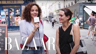 We Went To Paris And Asked 10 Women Their Fitness Secrets | BAZAAR x Paris