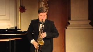 e bozza aria for saxophone