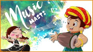 Chhota Bheem Music Masti | Best Song for Kids | Animated Songs by Green Gold Kids