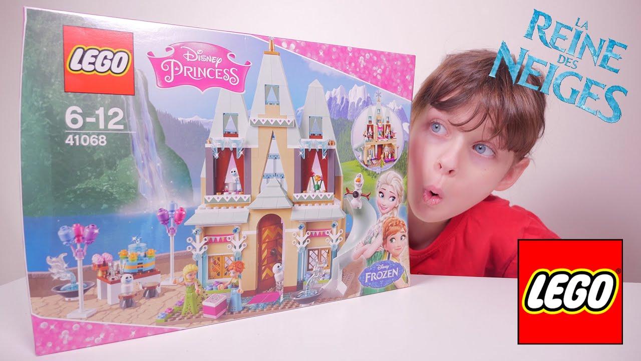lego frozen l 39 anniversaire d 39 anna au ch teau reine des neiges unboxing disney frozen toy. Black Bedroom Furniture Sets. Home Design Ideas
