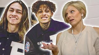 Mom REACTS to Lil Skies - Nowadays ft. Landon Cube (Dir. by @_ColeBennett_)