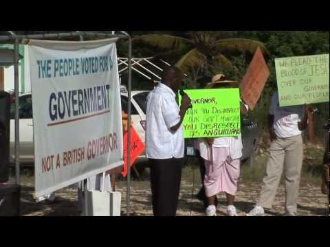 Chief Minister's March to Governor's Office Anguilla