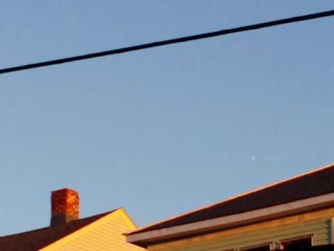 UFO OVER WORCESTER MASSACHUSETTS AUGUST 29TH