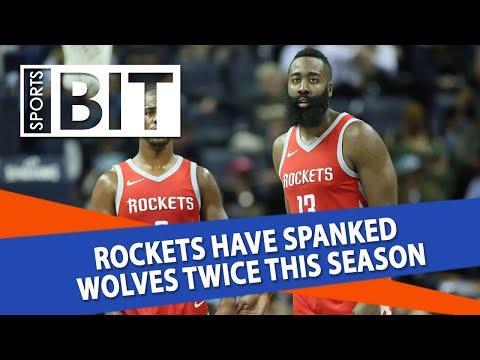 Minnesota Timberwolves at Houston Rockets | Sports BIT | NBA Picks