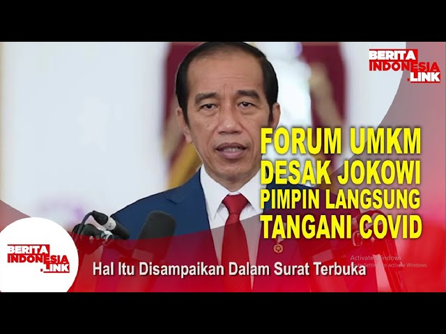 Jokowi Didesak Pimpin Langsung Penanganan Covid