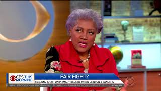 Donna Brazile baffles CBS hosts when she walks back DNC claims from her own book