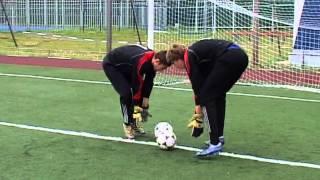 Подготовка вратарей (1-4 тренировки)
