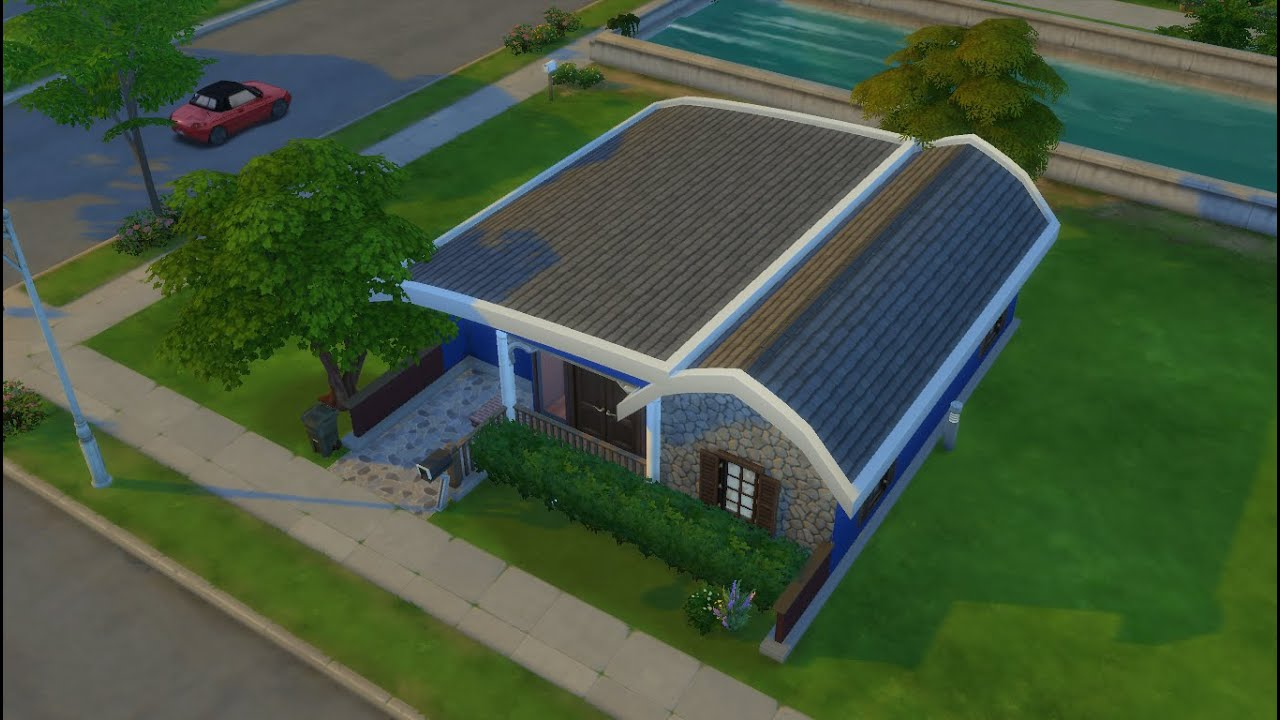 House Building The Sims  Modern Minimalist House Type - Minimalist house type 36