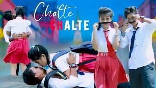 Chalte Chalte   Mohabbatein   Ft.Liza + Rahul   Romantic love story   LizaRahul Creation