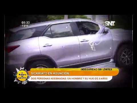 Titulares de la jornada: Sicariato en Asunción