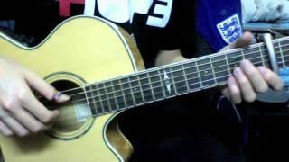 Part 1 Grenade - Bruno Mars (guitar tutorial by Stefan Wan)