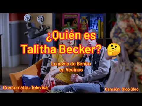 Quién es Talitha Becker o Liz, la novia de Benito en Vecinos