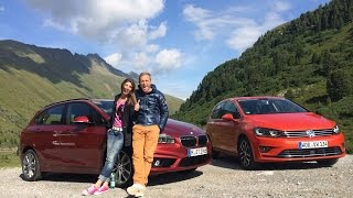 BMW 2er Active Tourer vs. VW Golf Sportsvan
