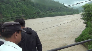 Rapti River overflow of water