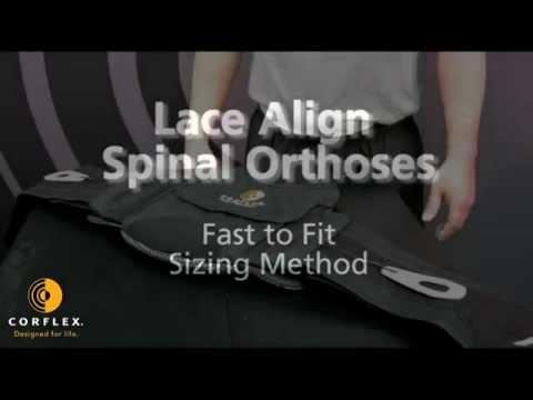Corflex Lace Align Lumbosacral Orthosis - OrthoMed Canada