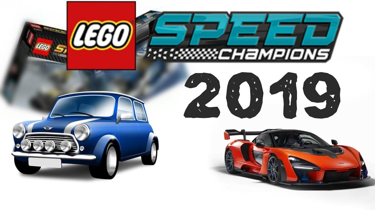 lego news lego speed champions 2019 sets info youtube. Black Bedroom Furniture Sets. Home Design Ideas