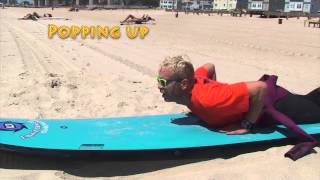 Learn How to Surf DVD-Video. Beginners Learning Surfing Videos #2