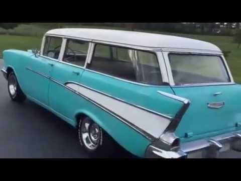 1957 Chevy Wagon! For sale $4,250.00 - YouTube