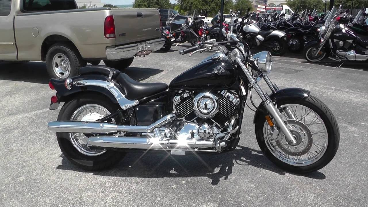 027247 - 2001 Yamaha V Star 650 Custom XVS65NC - Used motorcycles for sale