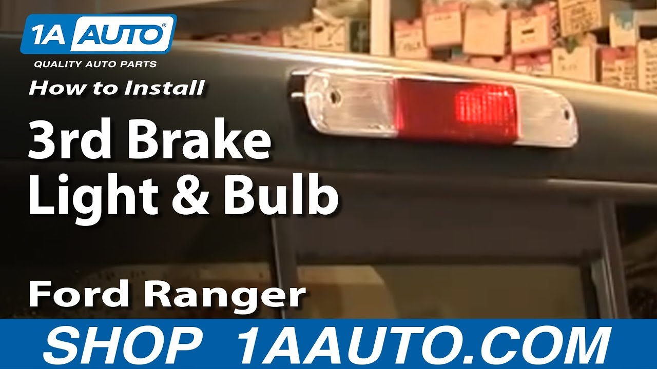 1993 Ford Ranger Wiring Harness How To Replace Third Brake Light 95 03 Ford Ranger Youtube