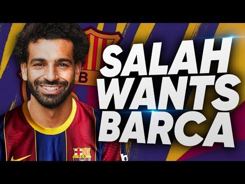 Salah To Join Barcelona In SHOCK Transfer?!   Euro Transfer Talk