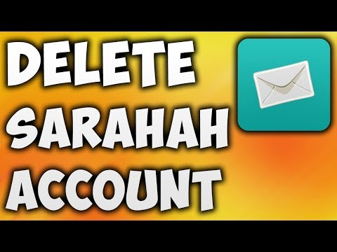 How To Delete Sarahah Account Permanently - The Easiest Way To Disable or Remove Sarahah Account