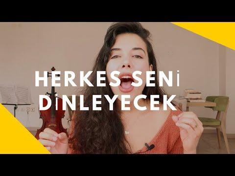 HERKES SENİ DİNLEYECEK ! (Etkili Konuşma)
