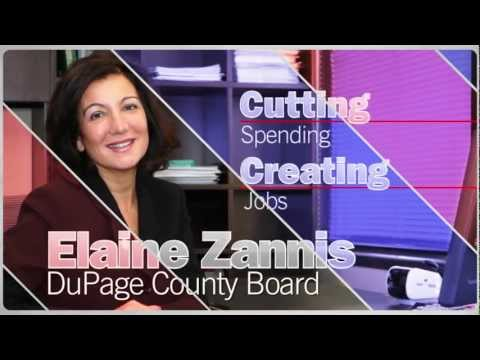 Elaine Zannis for the DuPage County Board