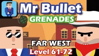 Mr Bullet - Spy Puzzles  Chapter 6 FAR WEST Walkthrough | Level 61-72 3 stars