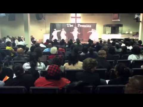 Jaelyn Swan Dancing at Shabach Christian Academy