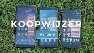 Dit zijn de beste smartphones van mei 2018 - Telekoopwijzer video (Dutch)