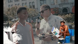 New Yorkers React to Aminé's 'Good For You' | Angelito in the Streets