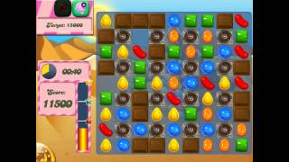 Candy Crush Saga: Level 166 (No Boosters) iPad 4