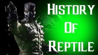History Of Reptile Mortal Kombat X