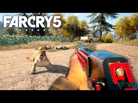 Far Cry 5 - UPDATED HUNTING RIFLES (Far Cry 5 Free Roam Gameplay) #30