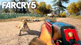 Far Cry 5 UPDATED HUNTING RIFLES Far Cry 5 Free Roam Gameplay 30