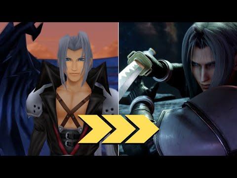 Cloud & Sephiroth in Kingdom Hearts VS Final Fantasy VII Remake  
