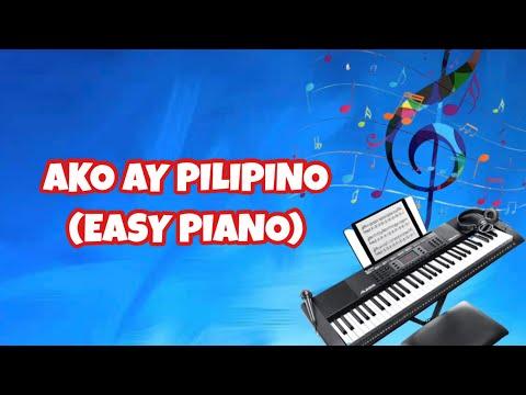 Ako ay Pilipino (Basic Piano)