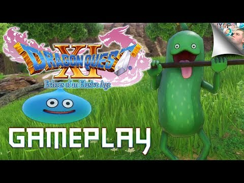 Dragon Quest XI: Spoiler-Free Gameplay (English, PS4 Pro, Full Ver.) | Dragon Quest 11 Gameplay