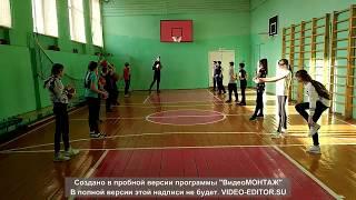"""Видео - урок по баскетболу в 6 """"Б """"классе. Учитель Ошкин М.В."""