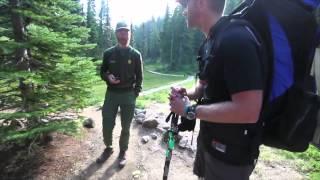 Marmot bear story-Golden Lakes