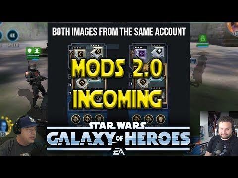 MOD Update 2.0 - Star Wars: Galaxy Of Heroes - SWGOH