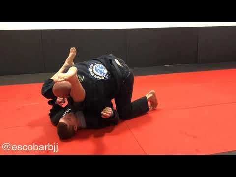 Triangle Choke Defense to Stacking Guard Pass