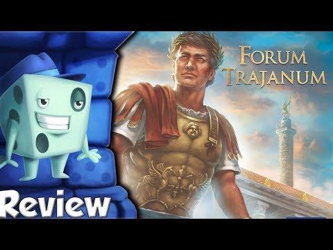 Forum Trajanum Review -  With Tom Vasel