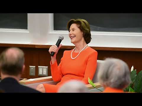 Former First Lady Laura Bush catches us up with the Bush family