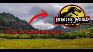 Filtrado Titulo de Jurassic World 3!!!