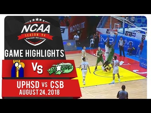 NCAA 94 MB: UPHSD vs. CSB | Game Highlights | August 24, 2018