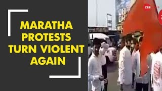 Maratha protests turn violent again, clashes reported from Pune