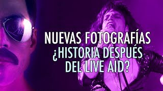 Nuevas fotografías: ¿Historia después del Live Aid?   Nicolás Casanova