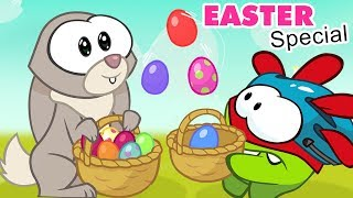 Om Nom Stories: SUPER NOMS | Easter Special | Cartoons For Children by Kids Shows Club